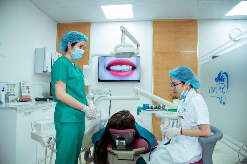 Các bước trồng răng sứ