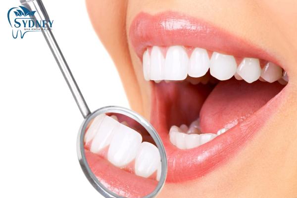 Răng sứ thẩm mỹ rất an toàn và có độ thẩm mỹ cao
